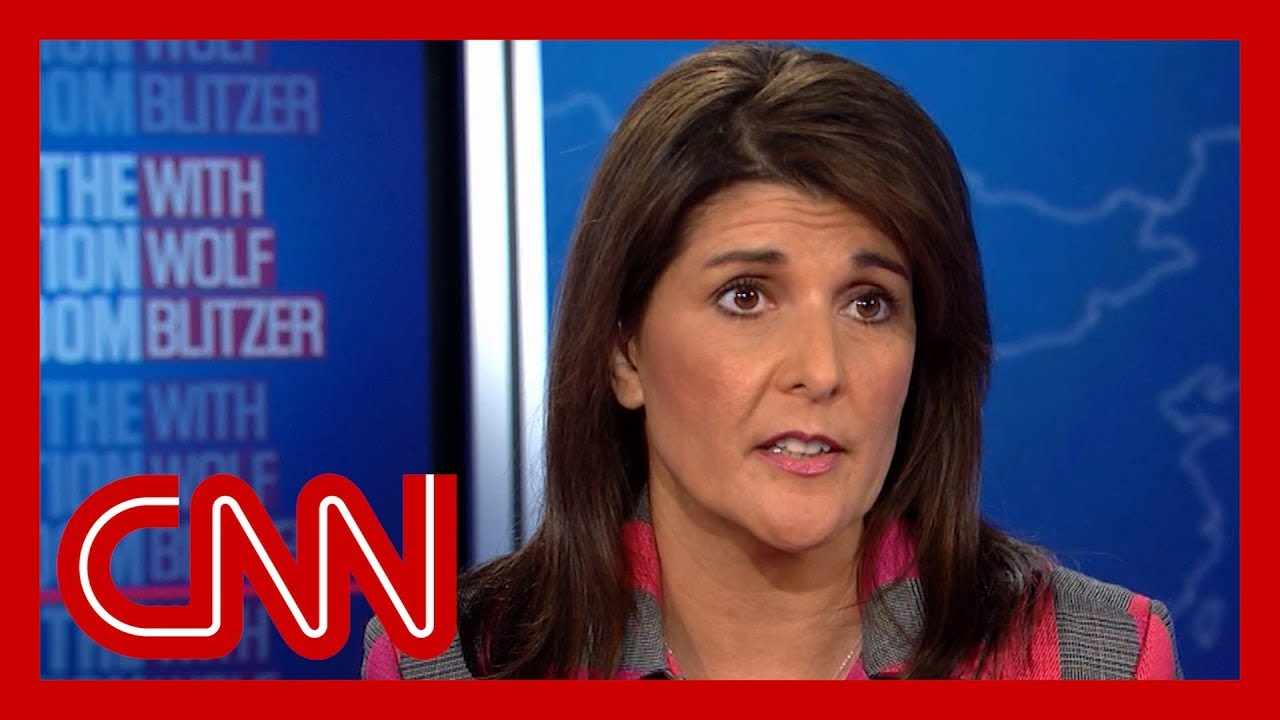 Nikki Haley is pressed about Trump's truthfulness 3