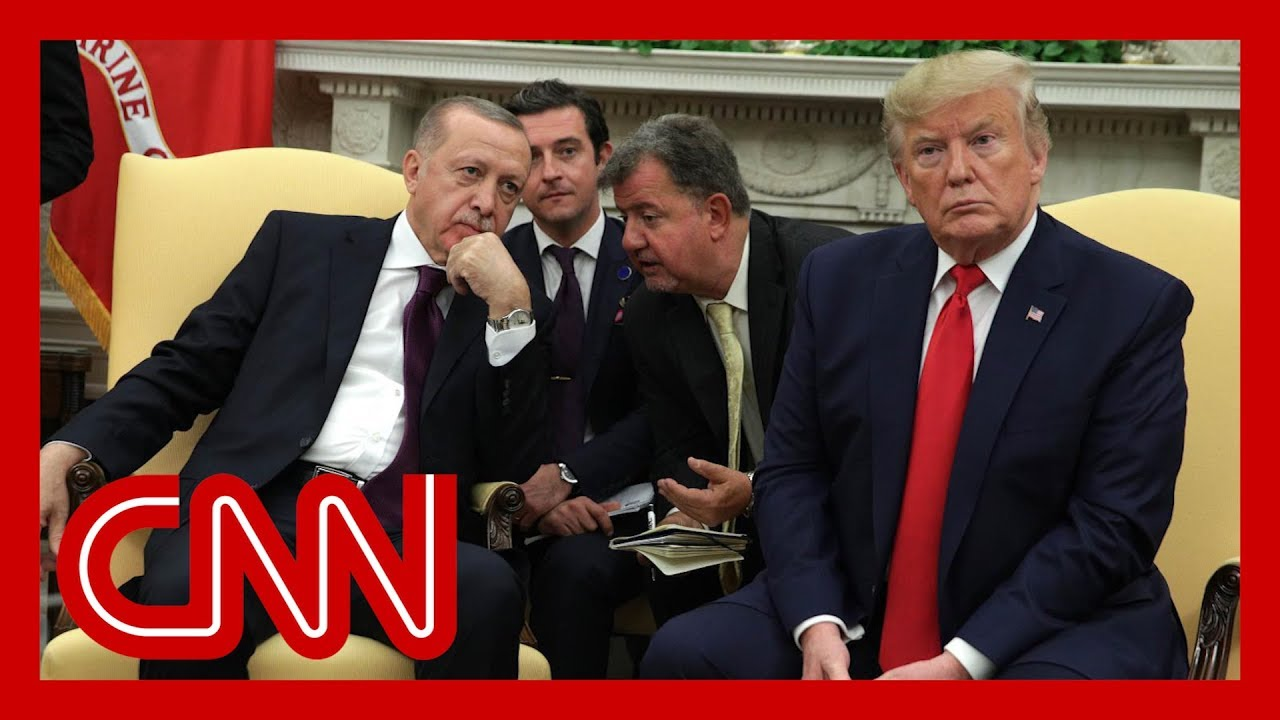 Erdoğan showed GOP senators and Trump propaganda video during WH meeting 1