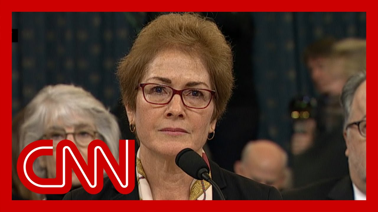 Trump impeachment hearings - Marie Yovanovitch (FULL CNN Live Stream) 6