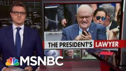 Cybersecurity Adviser Rudy Giuliani Locks Himself Out Of iPhone | All In | MSNBC 1