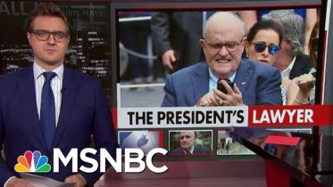 Cybersecurity Adviser Rudy Giuliani Locks Himself Out Of iPhone   All In   MSNBC 6