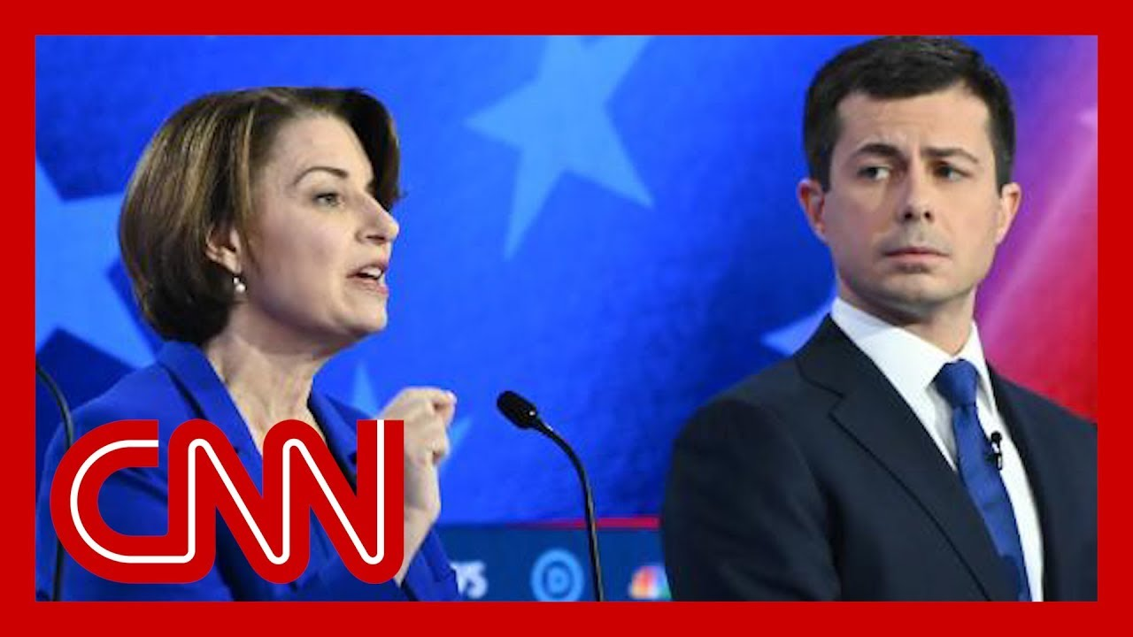Amy Klobuchar asked about Pete Buttigieg comments 8