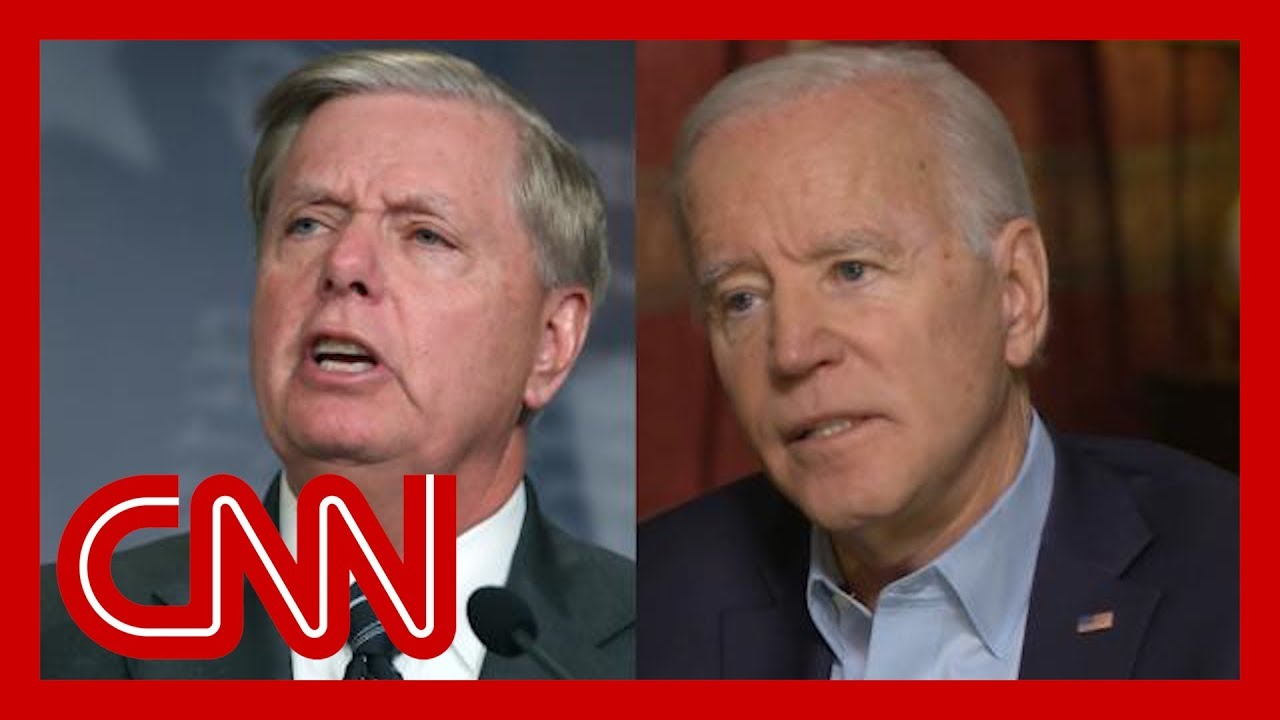 Watch Biden fire back at Graham: I'm embarrassed for you 7
