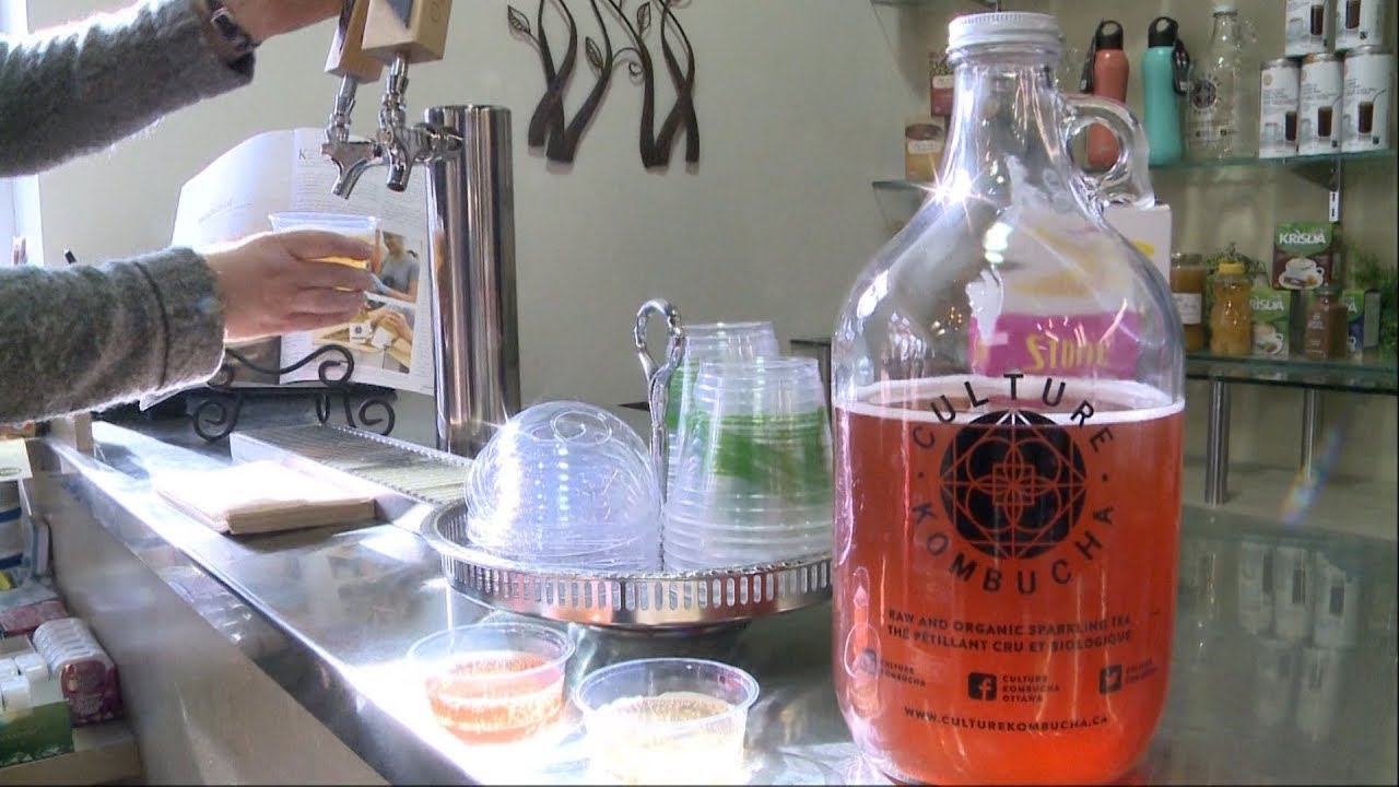 How much alcohol is in the fermented drink kombucha? 8