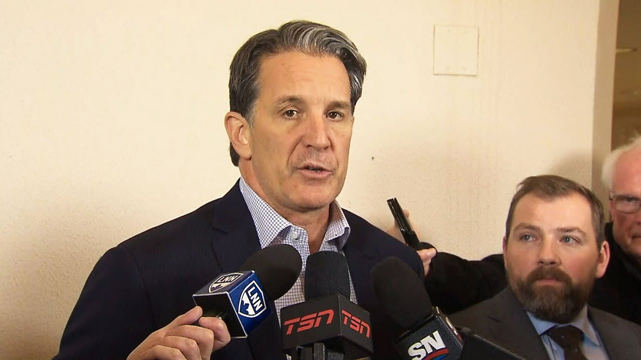 Maple Leafs President Brendan Shanahan on the firing of Head Coach Mike Babcock 3