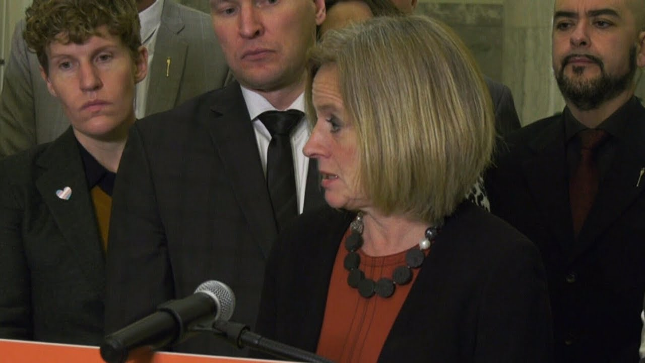 """Disgusting abuse of power"": Notley blasts Kenney, Bill 22 2"