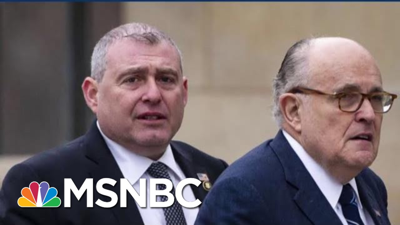 'He's Worried': Indicted Giuliani Associate Complying In Impeachment Probe | MSNBC 5