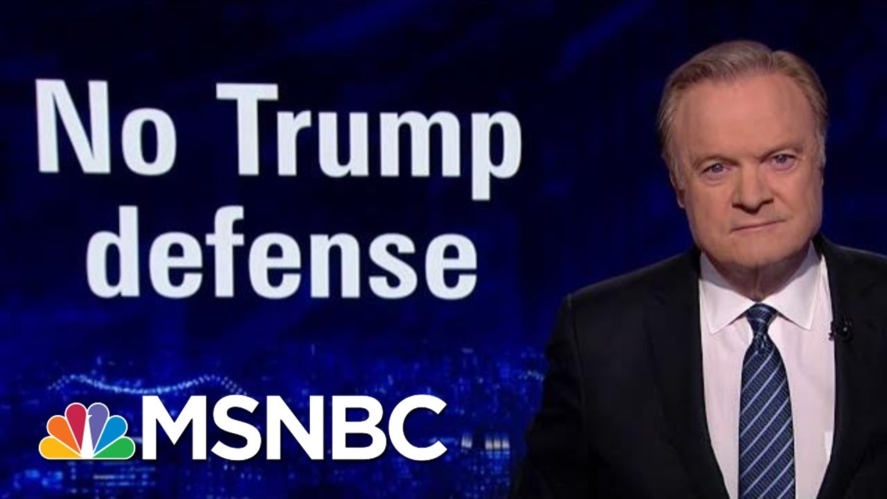 No Defense Of Trump From Republicans In Released Impeachment Depositions | The Last Word | MSNBC 3