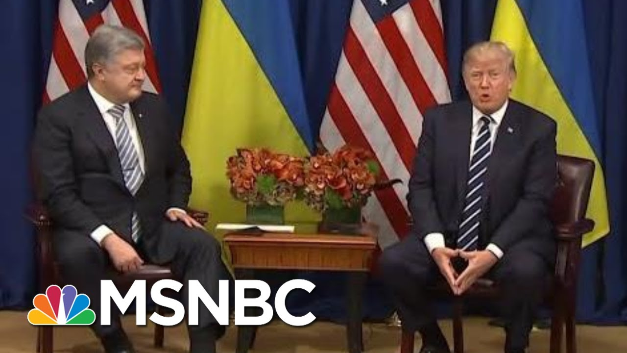 Previous Trump, Ukraine Transactions Mirrored Later Quid Pro Quo | Rachel Maddow | MSNBC 9