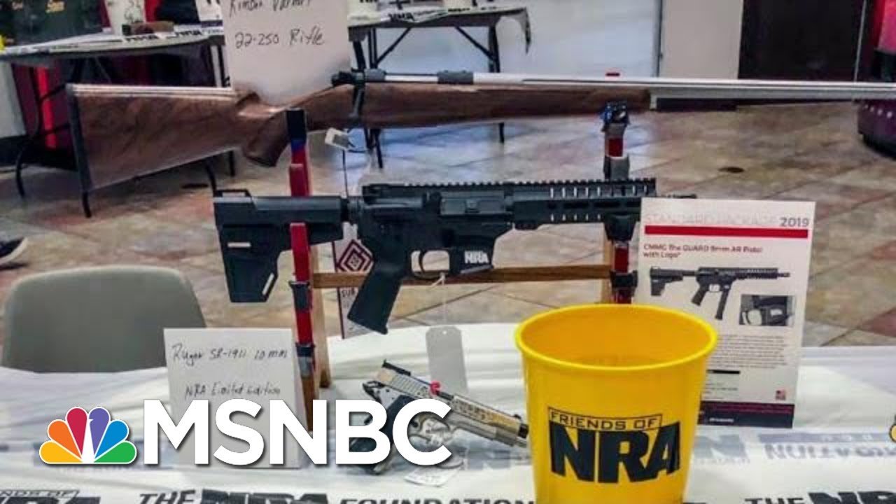 Wash Post: NRA Group Holding Gun Auctions In Schools | Velshi & Ruhle | MSNBC 5