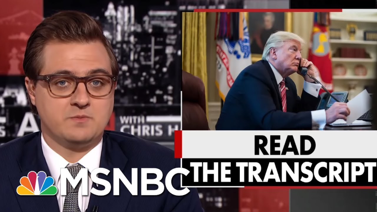 President Donald Trump Officials Wanted Ukraine To Implicate Bidens | All In | MSNBC 3