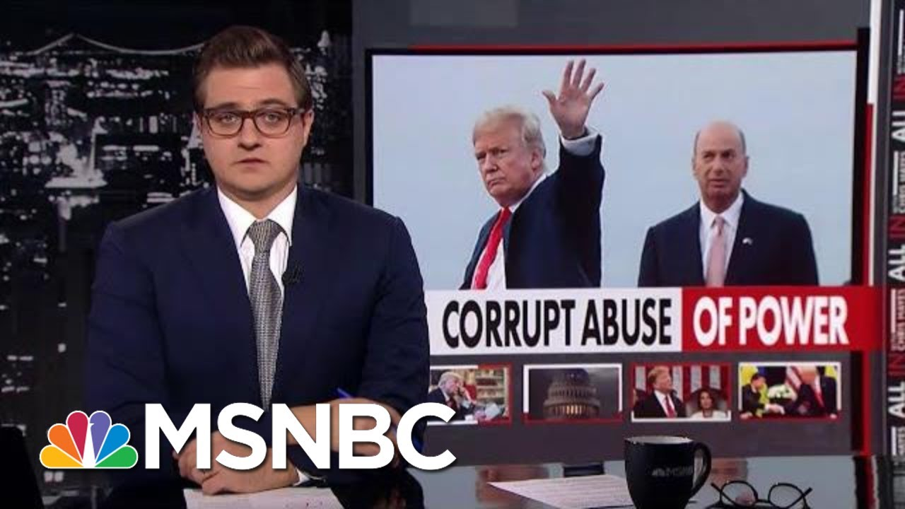 Chris Hayes: Yes, There Was A Quid Pro Quo | All In | MSNBC 12