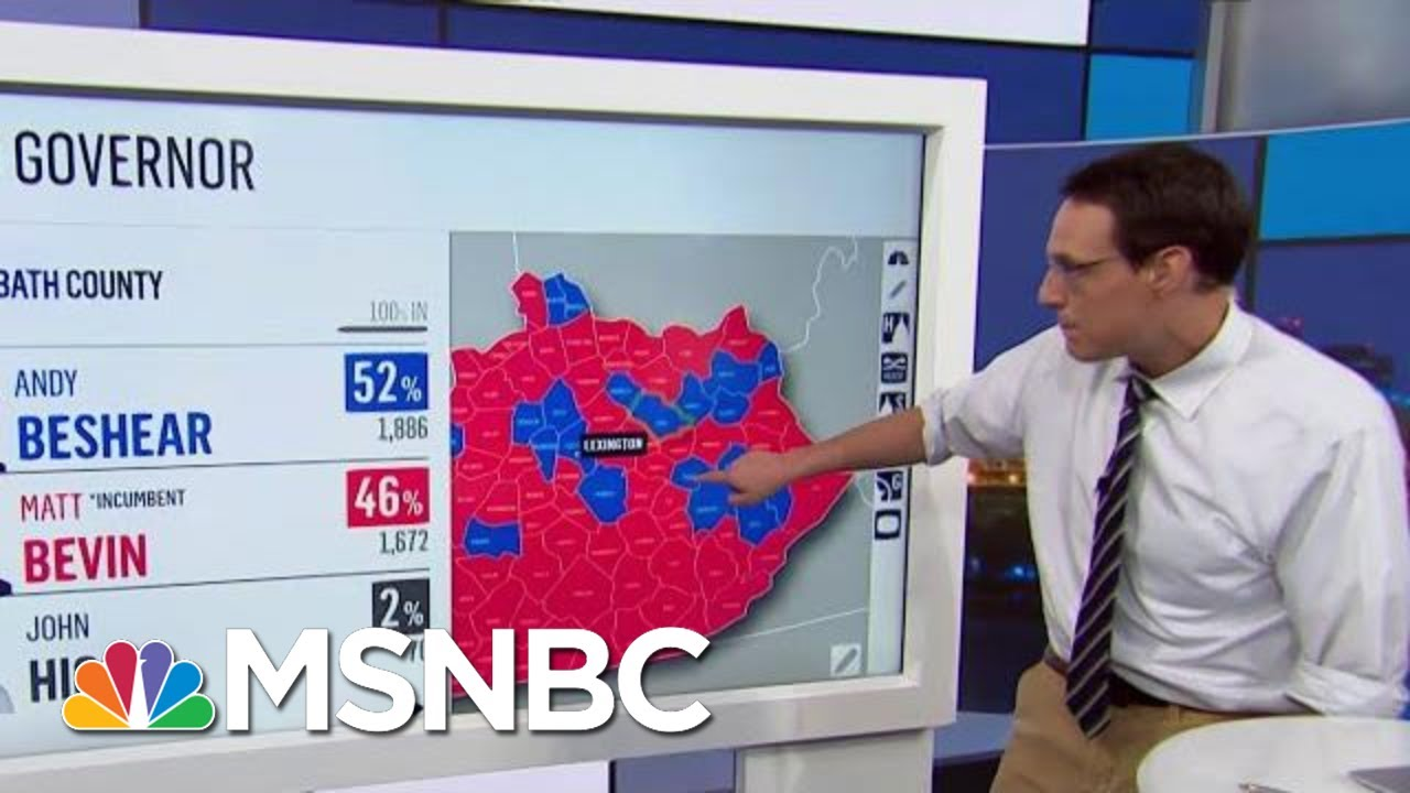 Strong Democratic Showing In Elections Sends Political Shockwaves | Rachel Maddow | MSNBC 3