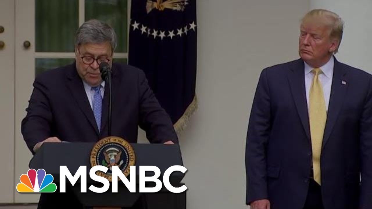 Trump Reportedly Wanted Barr To Hold Presser Clearing Him On Ukraine | The Last Word | MSNBC 9