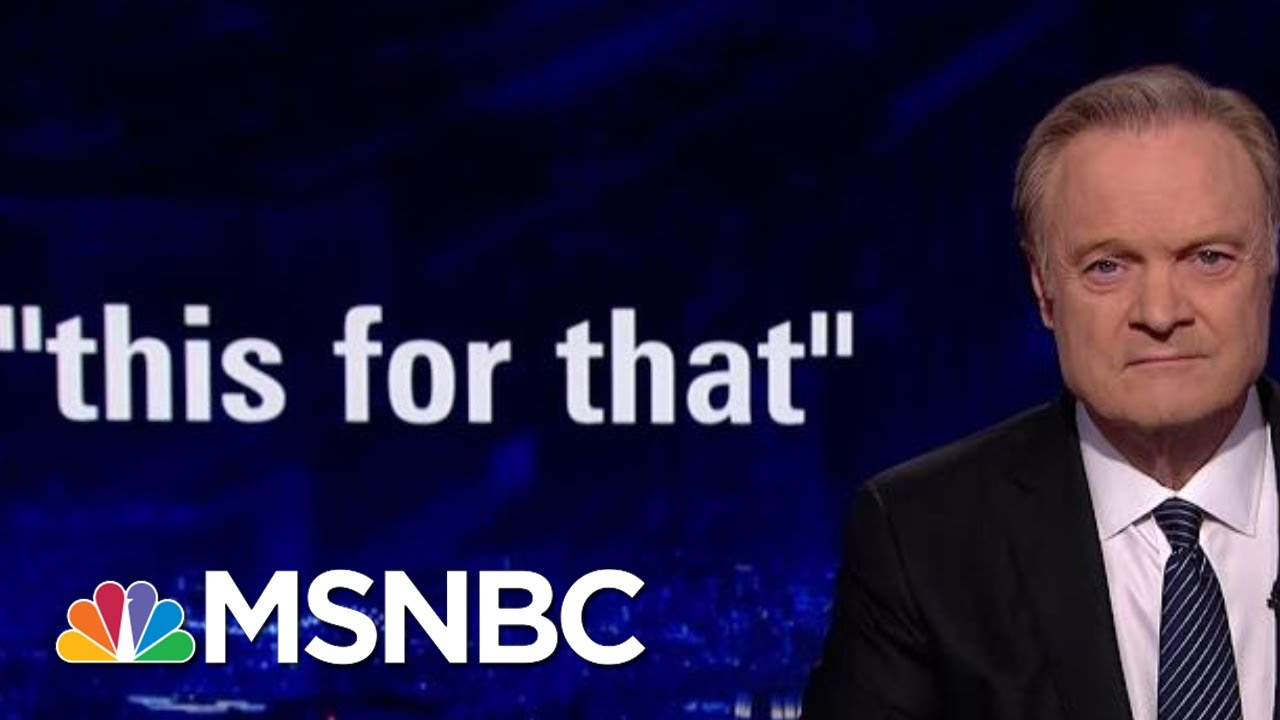 Top U.S. Diplomat To Ukraine Ties President Donald Trump To Quid Pro Quo | The Last Word | MSNBC 2