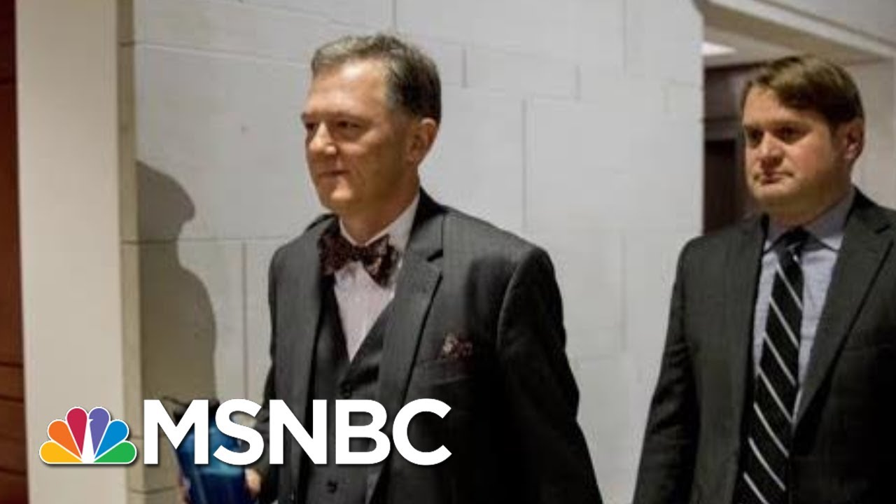 Latest Transcript Release Describes Alarm Over Pressure Campaign On Ukraine | Deadline | MSNBC 7