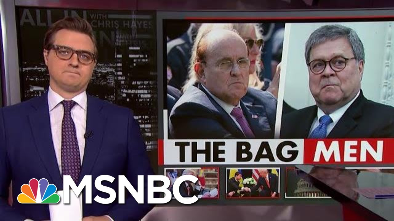 Chris Hayes On Just What Giuliani And Barr Were Willing To Do To Help Trump | All In | MSNBC 3