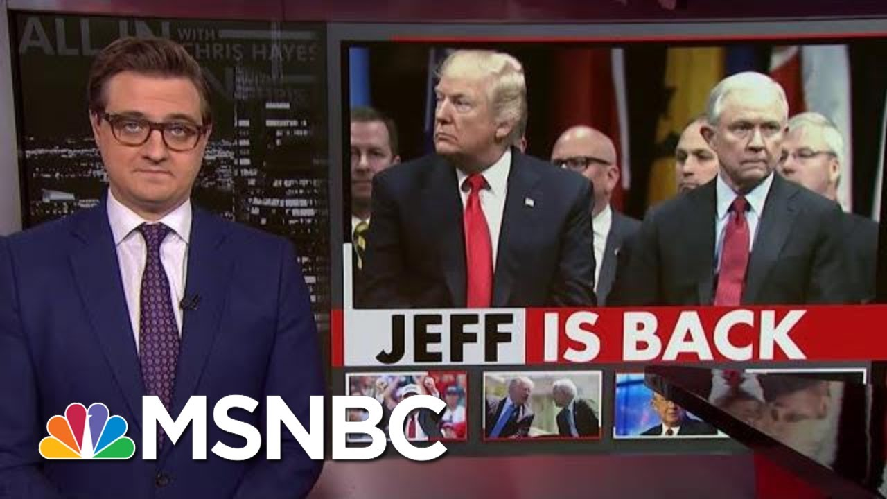 Jeff Sessions Plans Senate Run – Despite President Donald Trump | All In | MSNBC 5