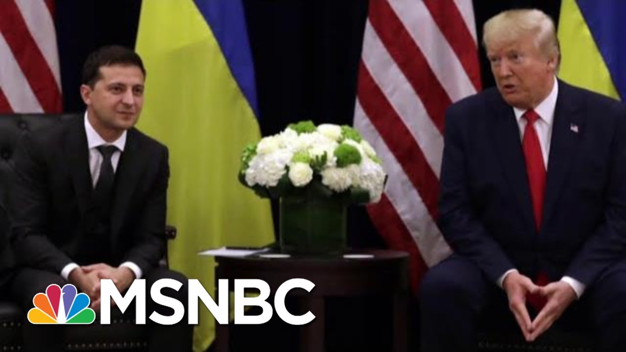 RPT: Ukraine's President Was Prepared To Bow To Trump's Demands | The Last Word | MSNBC 4