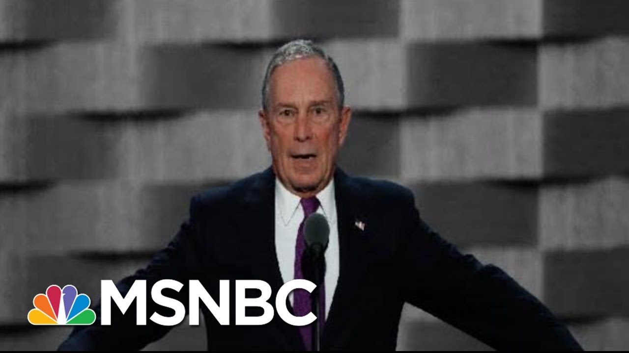 Mike Bloomberg May Be Reconsidering A Run For The White House | The 11th Hour | MSNBC 7