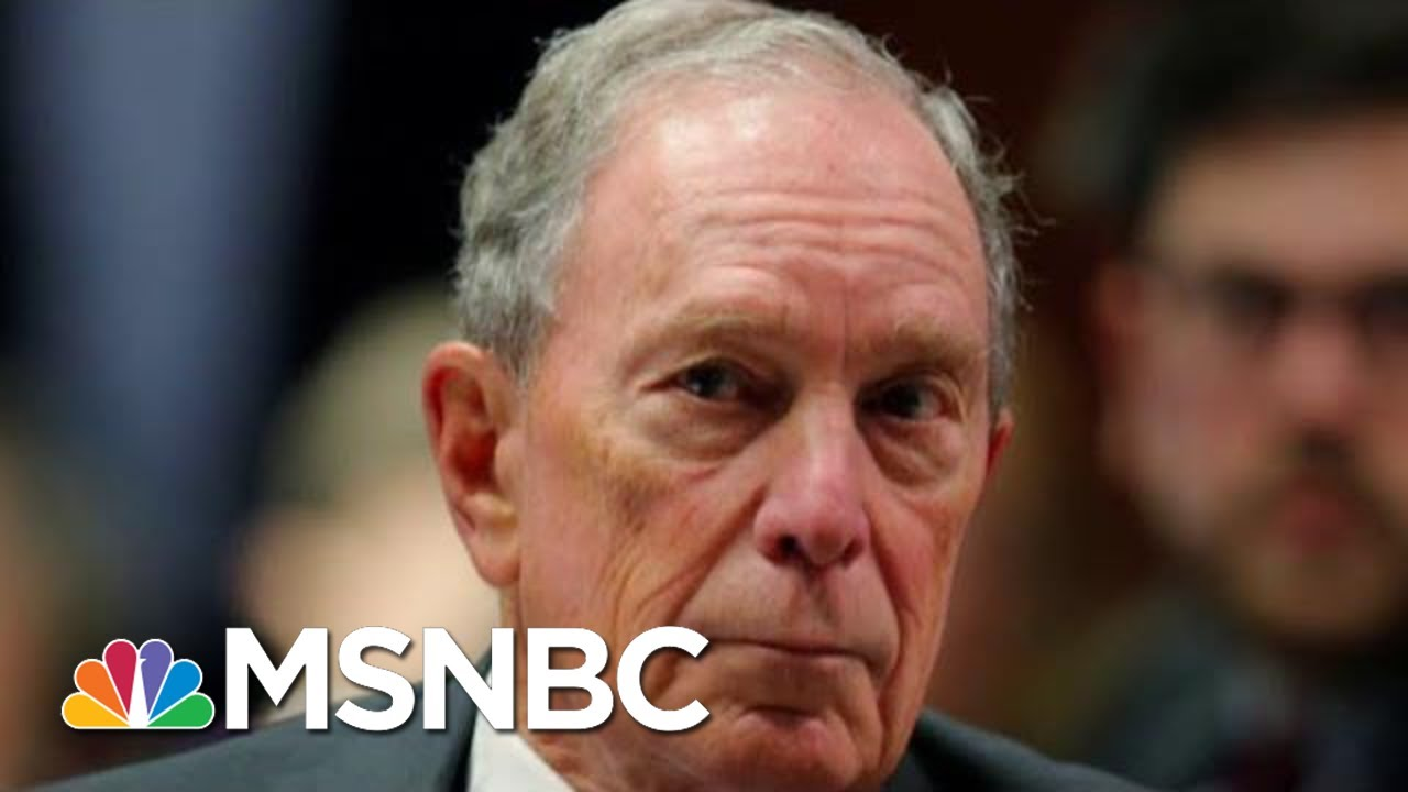 Michael Bloomberg Sizes Up A 2020 Run | Morning Joe | MSNBC 7