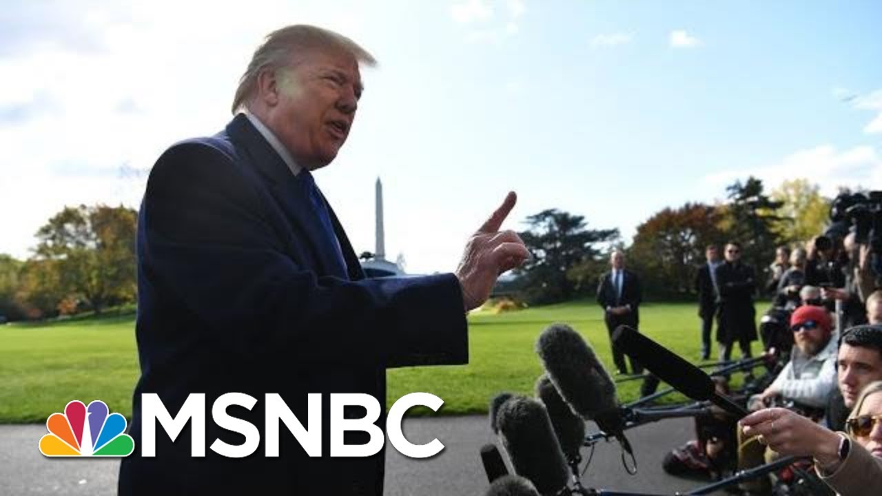 President Donald Trump: 'I Never Asked' Barr To Hold A Press Conference On His Ukraine Call | MSNBC 7