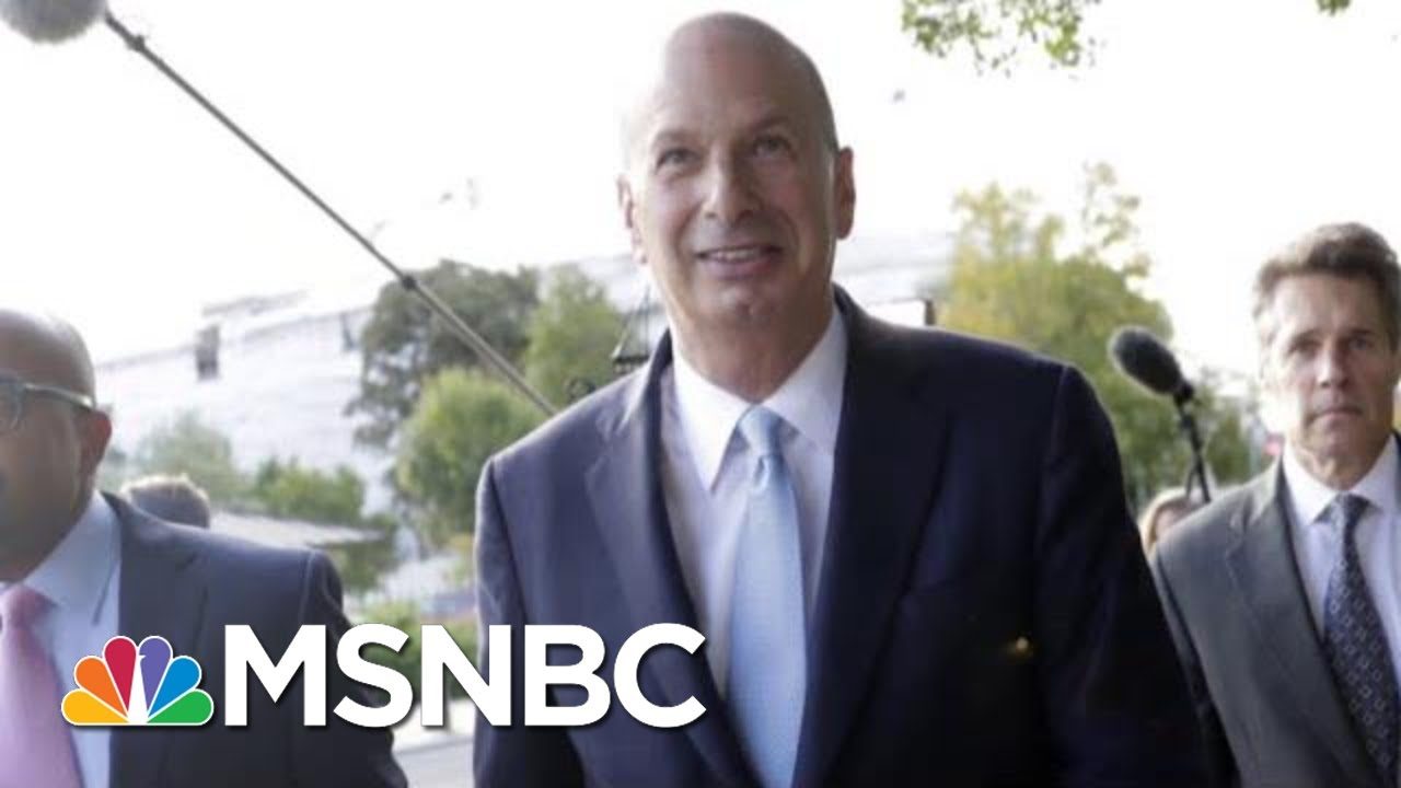 'I Barely Knew The Guy': President Donald Trump Brings Back Familiar Refrain | Deadline | MSNBC 9