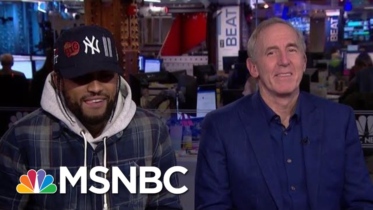 Rapper Dave East Talks Power, Love, Politics & New Album 'Survival' With Melber And Trump Co-Author 2