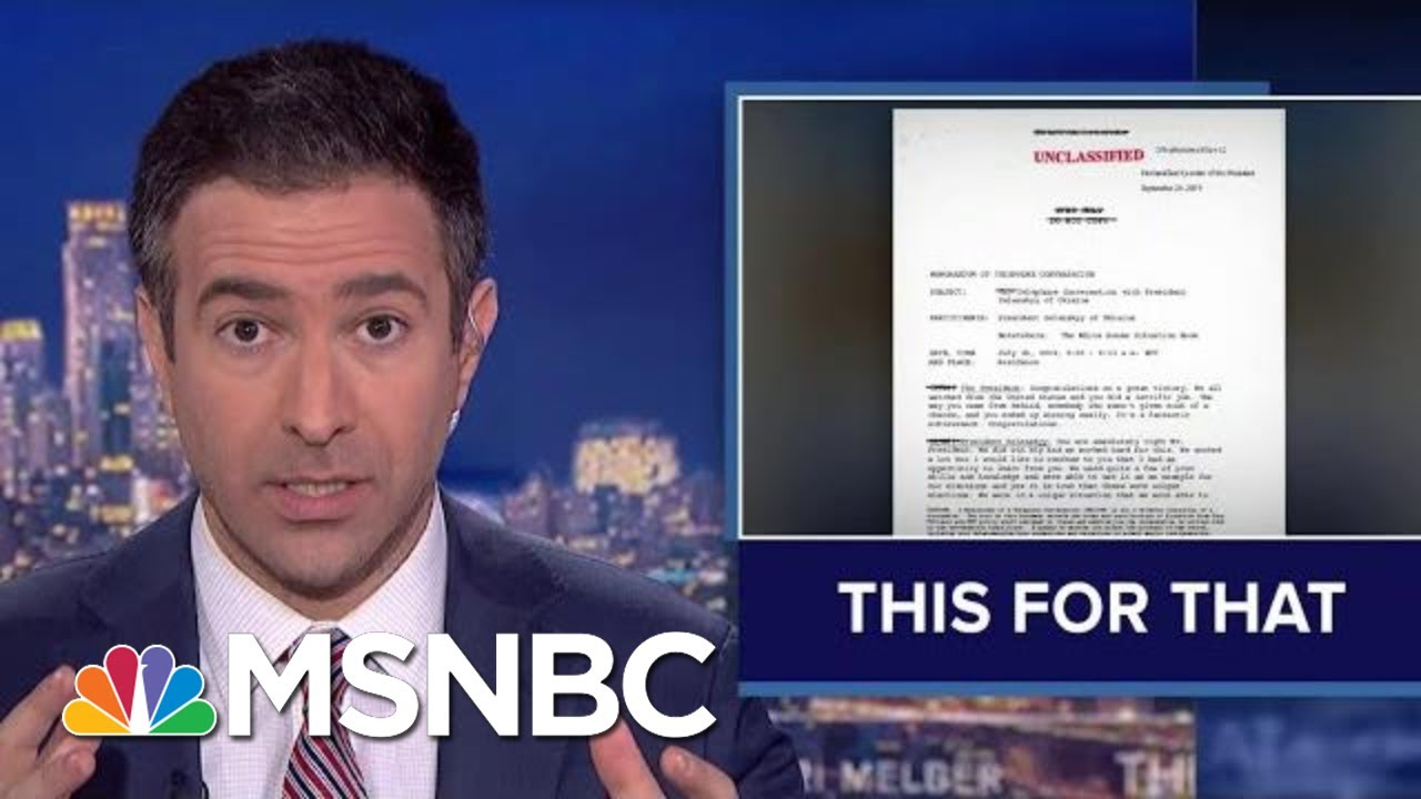 Trump Bribery Breakdown: Ari Melber Shows Witnesses Turning On Trump | MSNBC 4
