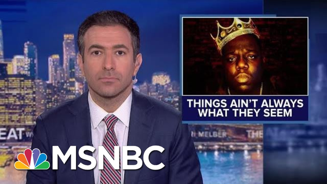 Anchor Cites Biggie Smalls In Report On Book 'Warning' Against Trump | MSNBC 3