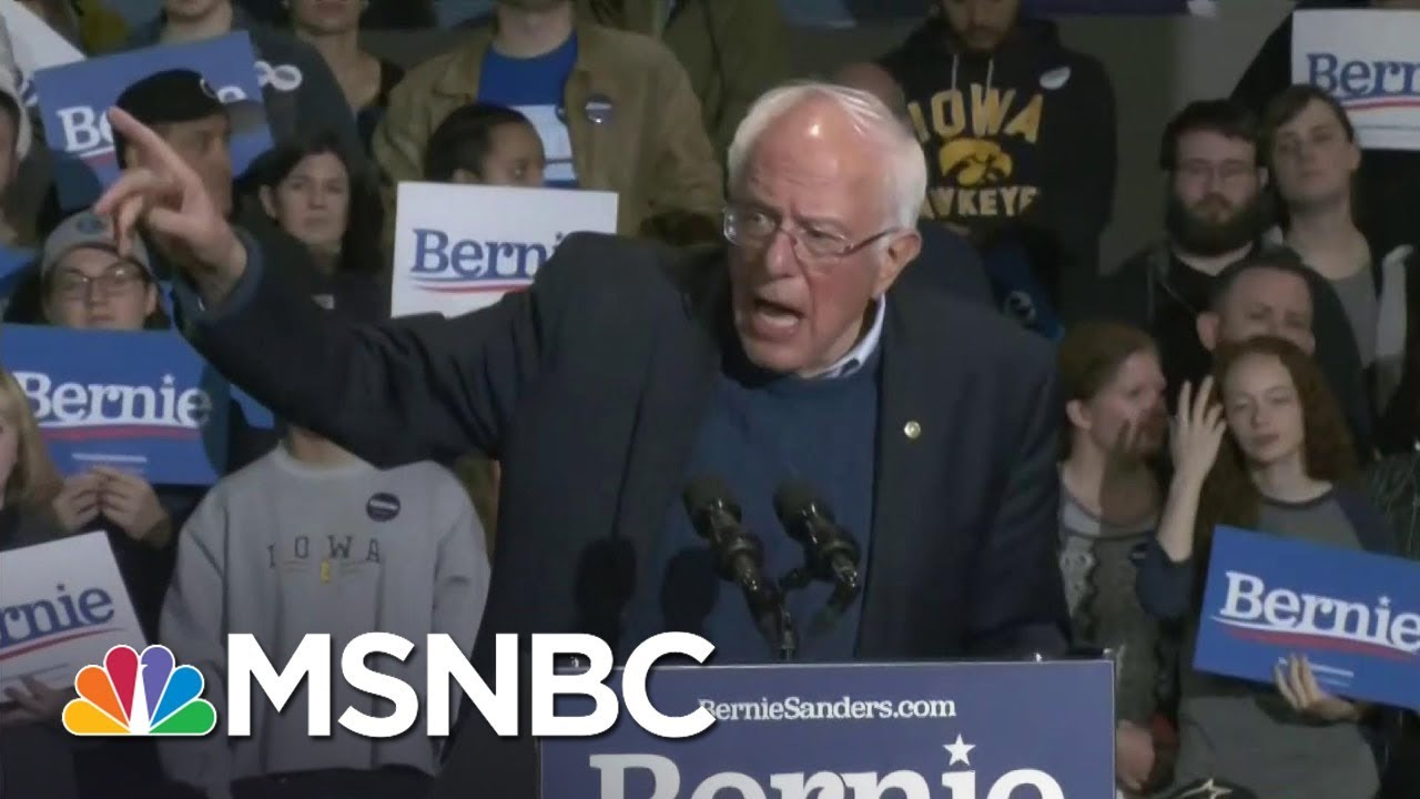 Sanders To Bloomberg: 'You Ain't Gonna Buy This Election' | MSNBC 8