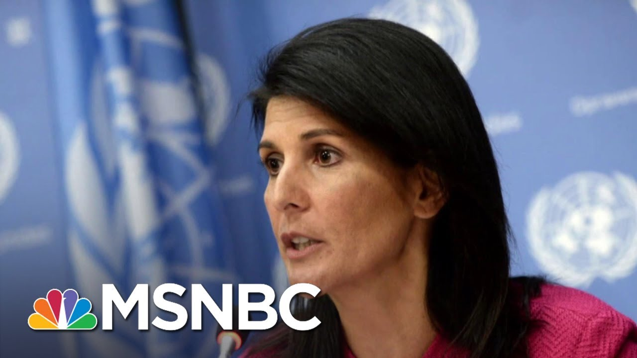 Nikki Haley Claims Cabinet Members Tried To Recruit Her To 'Save The Country' By Undermining Trump 6