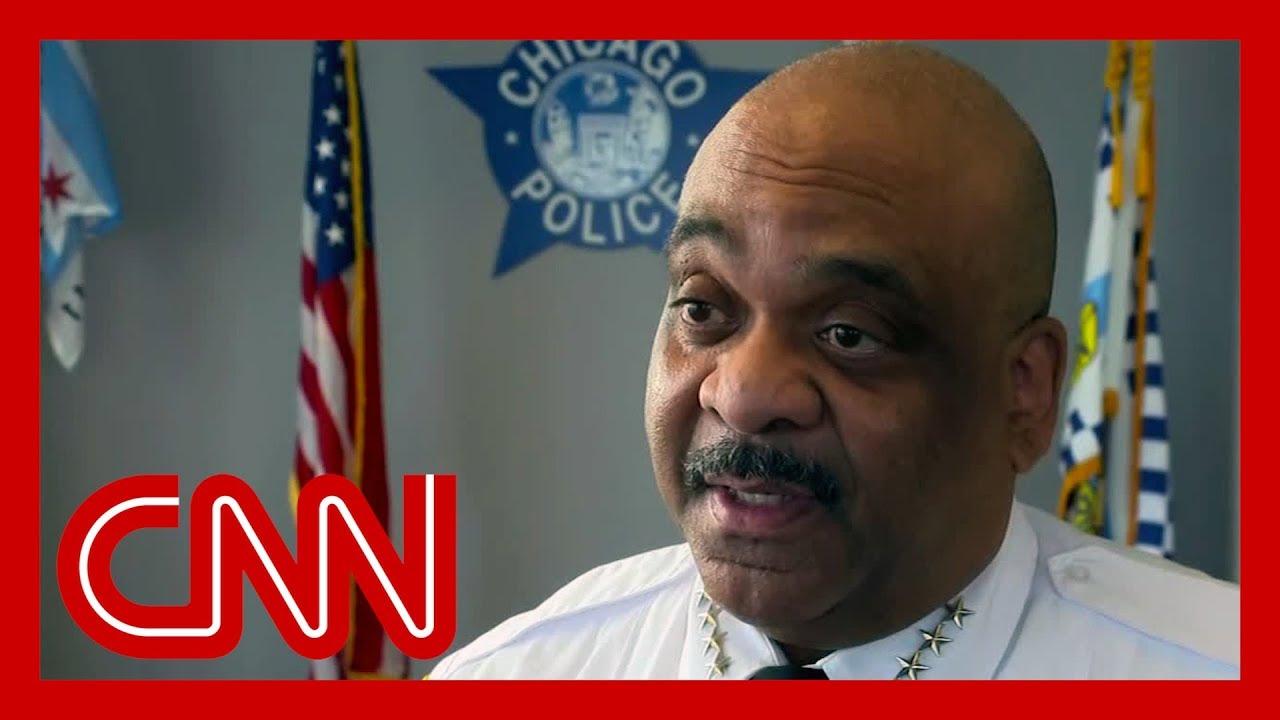 Chicago Police superintendent says he ignores Trump's tweets 1