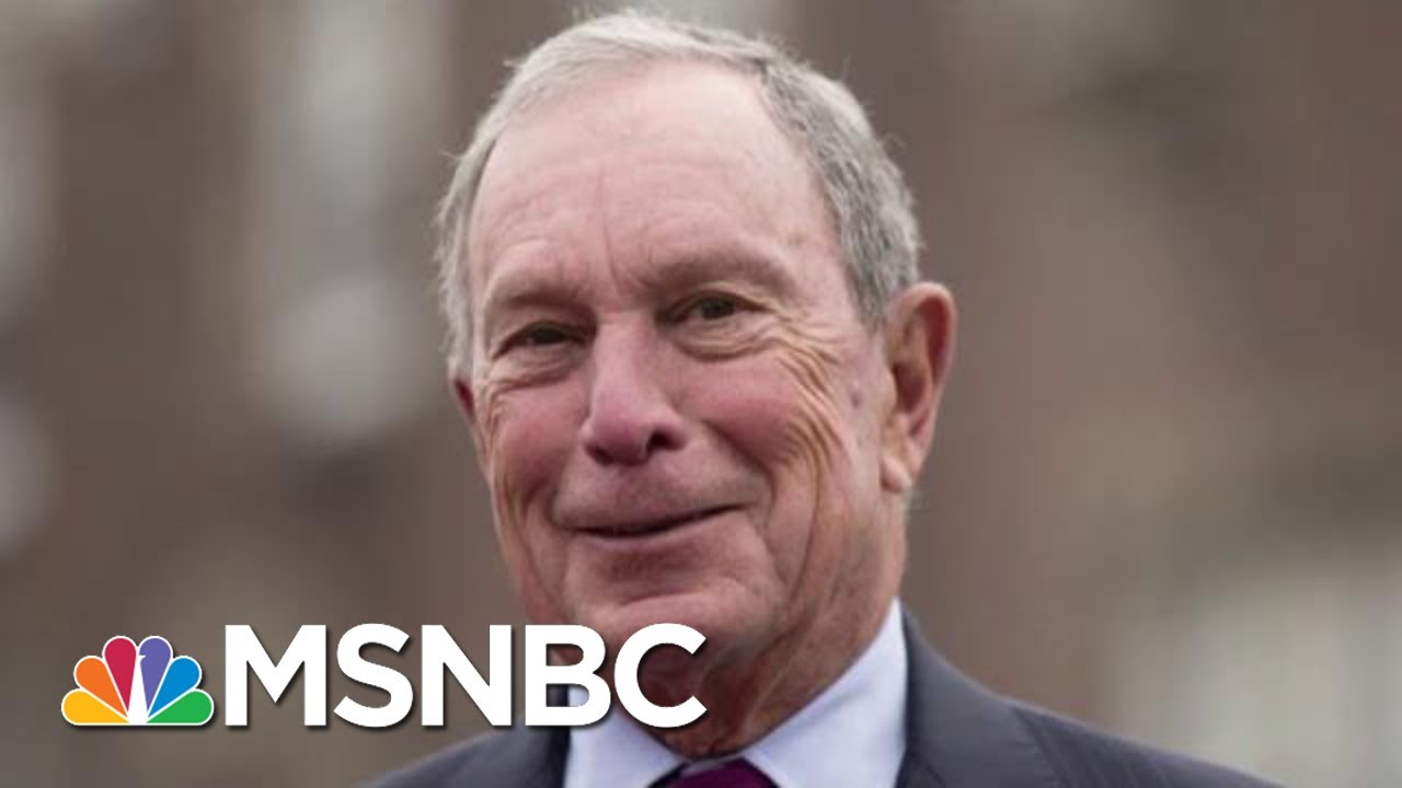 Michael Bloomberg Weighs Internal Polling Before Jumping Into Race | Morning Joe | MSNBC 14