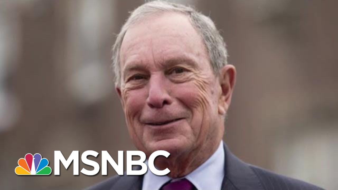 Michael Bloomberg Would Skip Early States In 2020 Bid | Velshi & Ruhle | MSNBC 2
