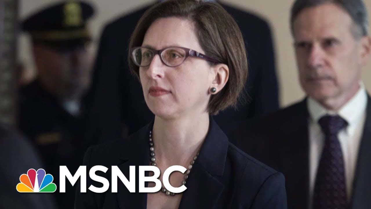NEW: Transcript Of Laura Cooper Deposition Released | Deadline | MSNBC 7
