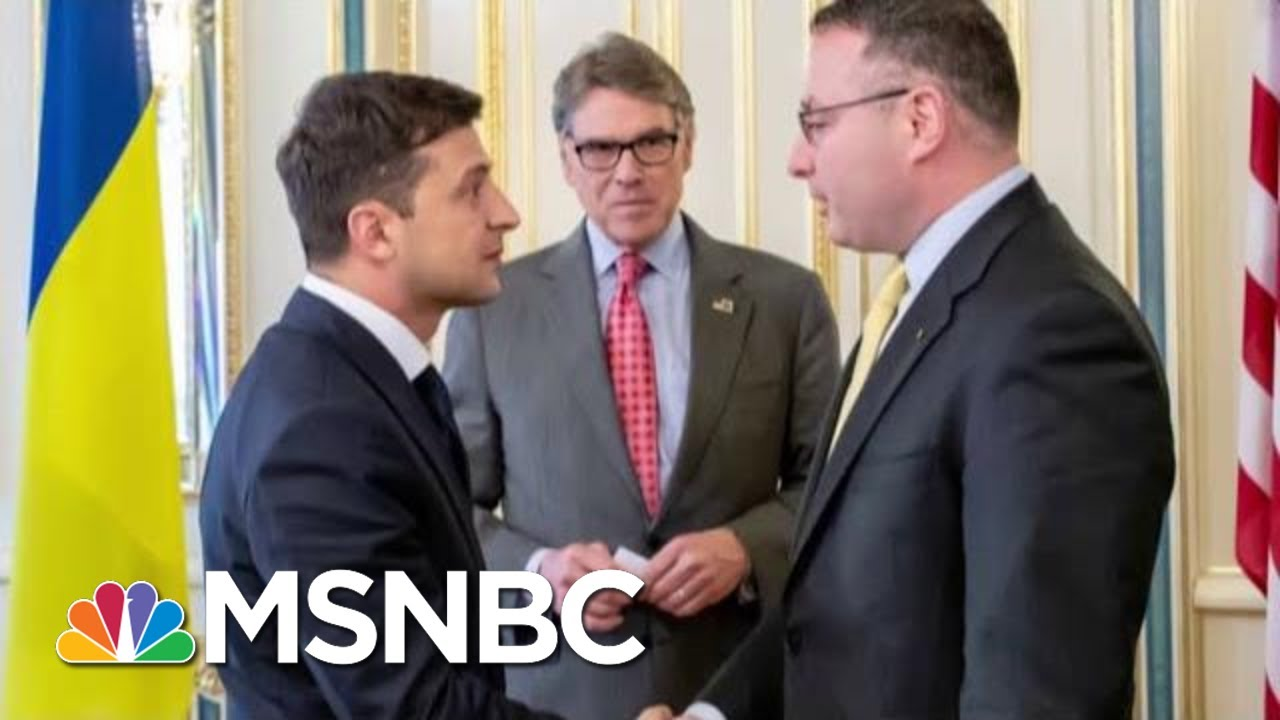 Trump Administration Models Corruption Even As It Scolds Ukraine | Rachel Maddow | MSNBC 3
