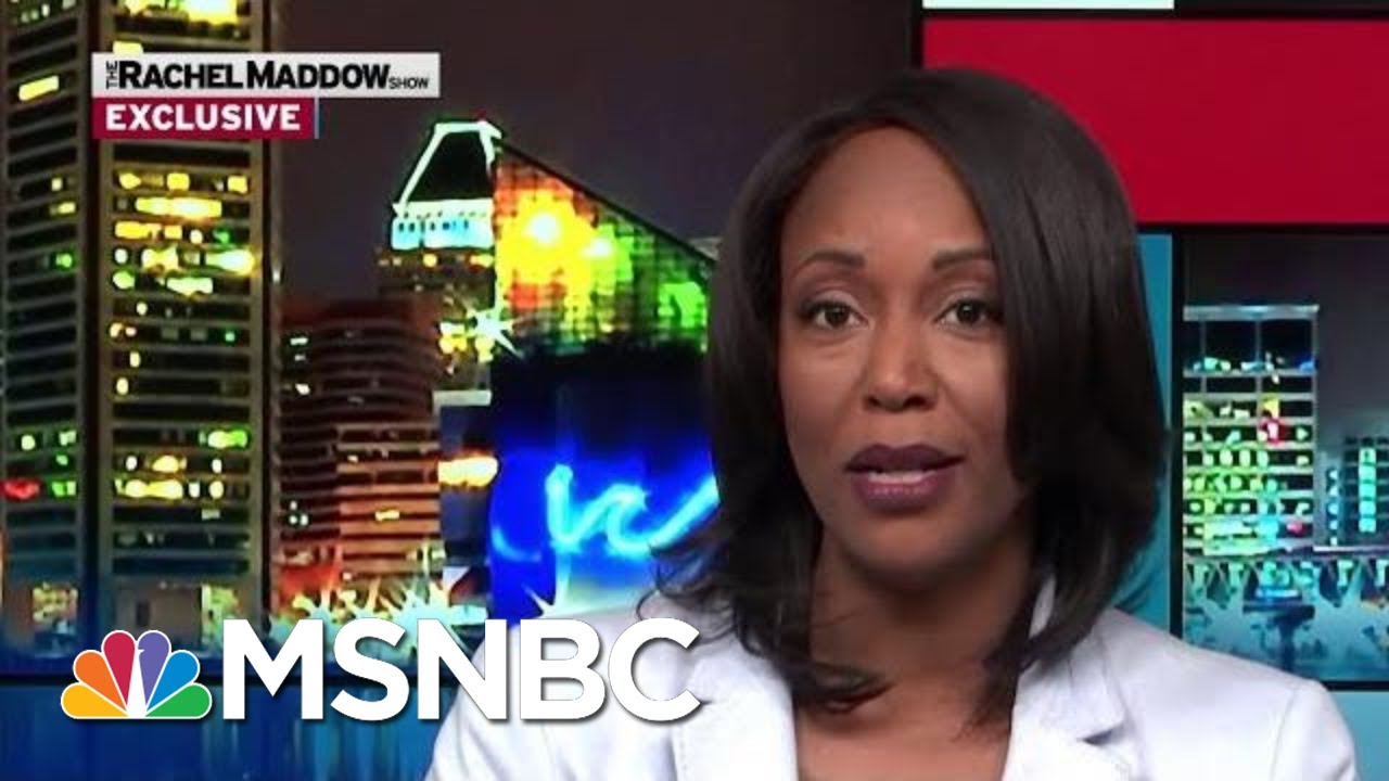 Maya Rockeymoore Cummings To Run For Her Husband's Seat | Rachel Maddow | MSNBC 9