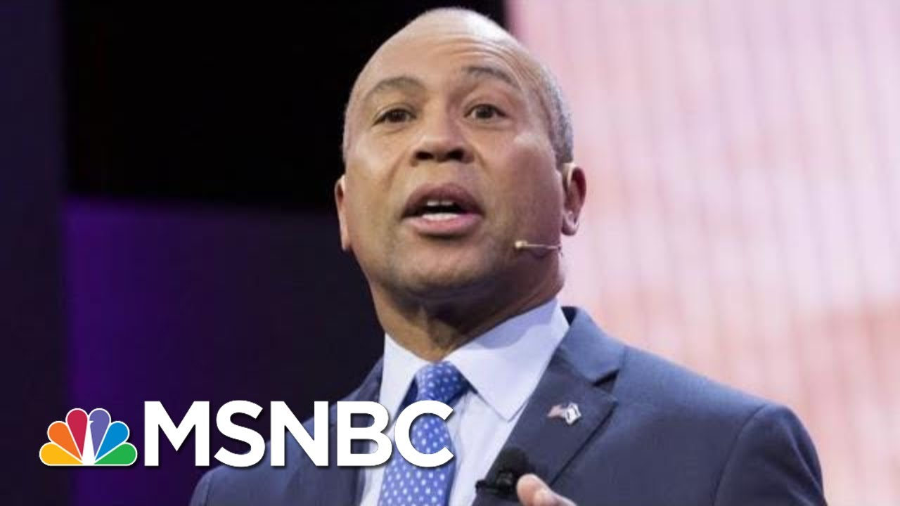 Can Deval Patrick Make Waves If He Jumps Into 2020? | Morning Joe | MSNBC 3