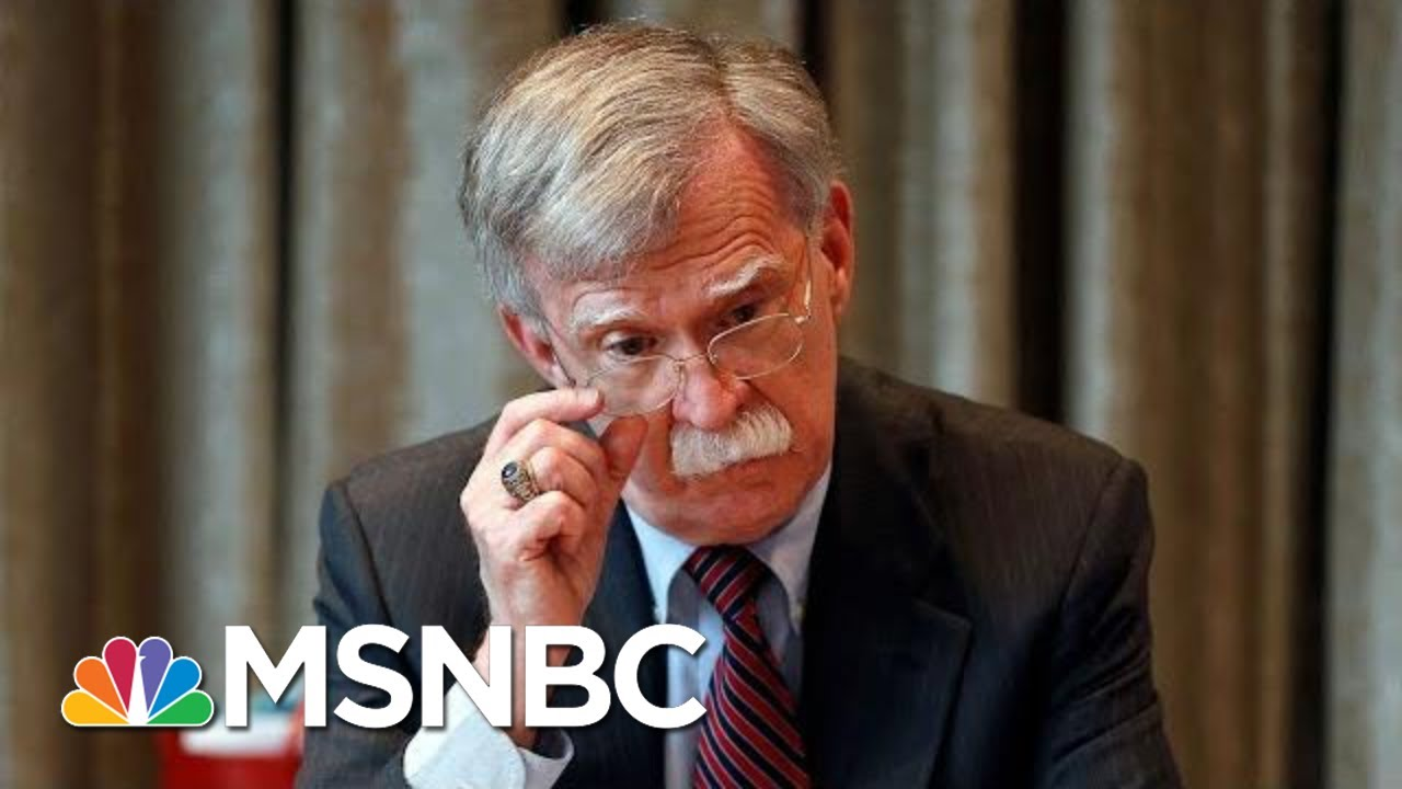 Bolton Slams Trump, Suggests Foreign Policy Guided By Personal Interest | Andrea Mitchell | MSNBC 5
