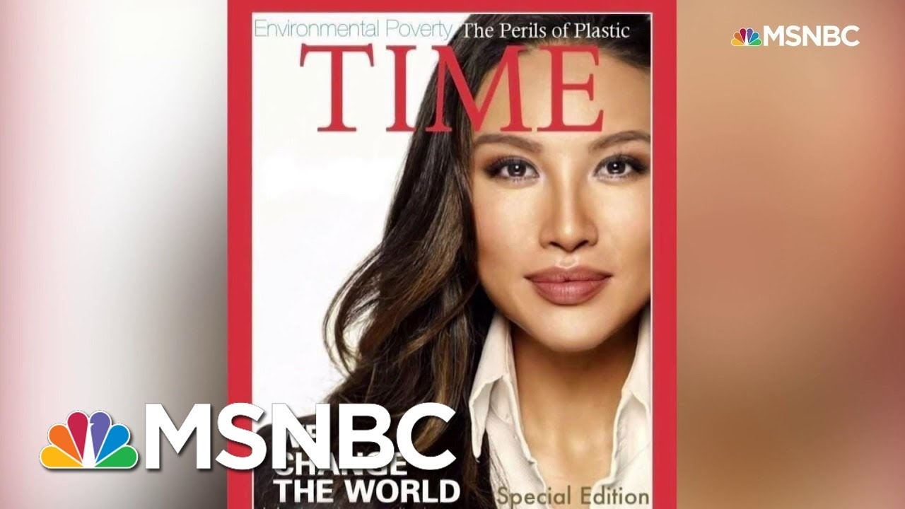 State Department Staffer Used Embellished Resume, Fake Time Magazine Cover | Andrea Mitchell | MSNBC 6