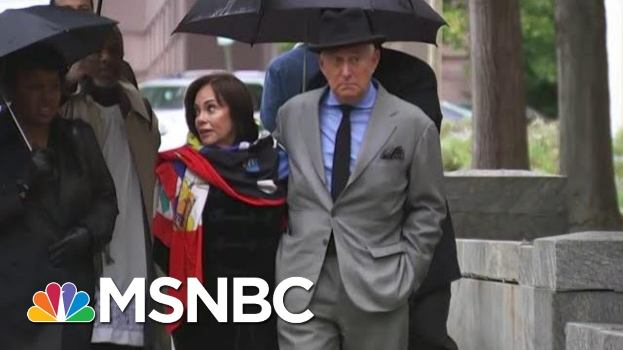 Roger Stone Trial: Gates Testimony Contrasts With Trump's Answers To Mueller | The Last Word | MSNBC 9