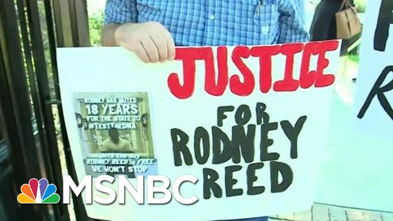 #FreeRodneyReed: The Bipartisan Push To Prevent An Execution In Texas | All In | MSNBC 1