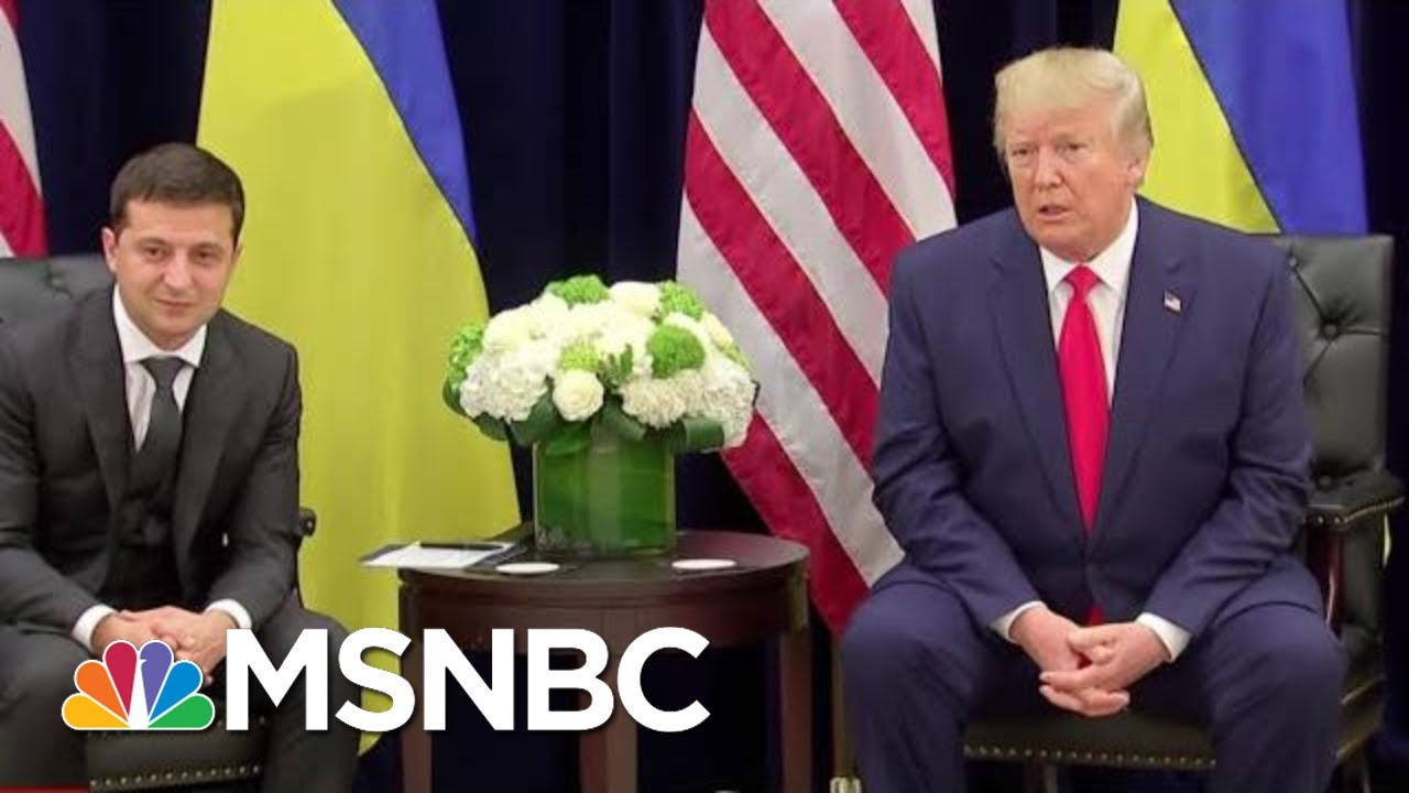 House Democrats Hone In On Bribery As Possible Impeachment Charge | The Last Word | MSNBC 9
