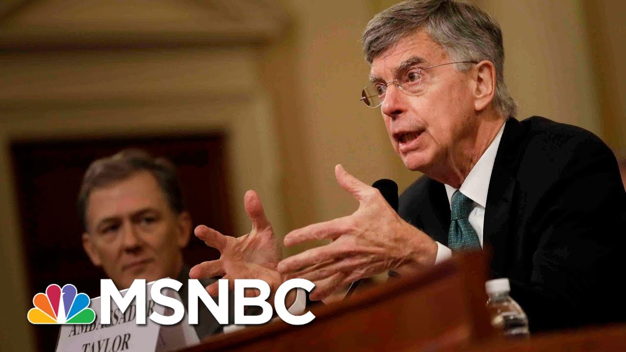 Nicolle Wallace: Bill Taylor's Bombshell Testimony Draws Direct Line To Trump | MSNBC 6