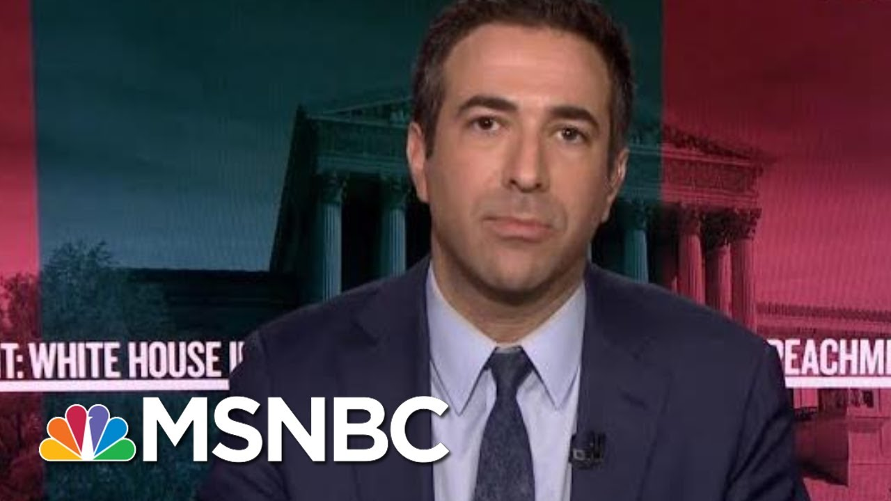 Melber: When You Hear Advocacy For Exposing Whistleblower, You're Hearing Advocacy For Crime | MSNBC 4