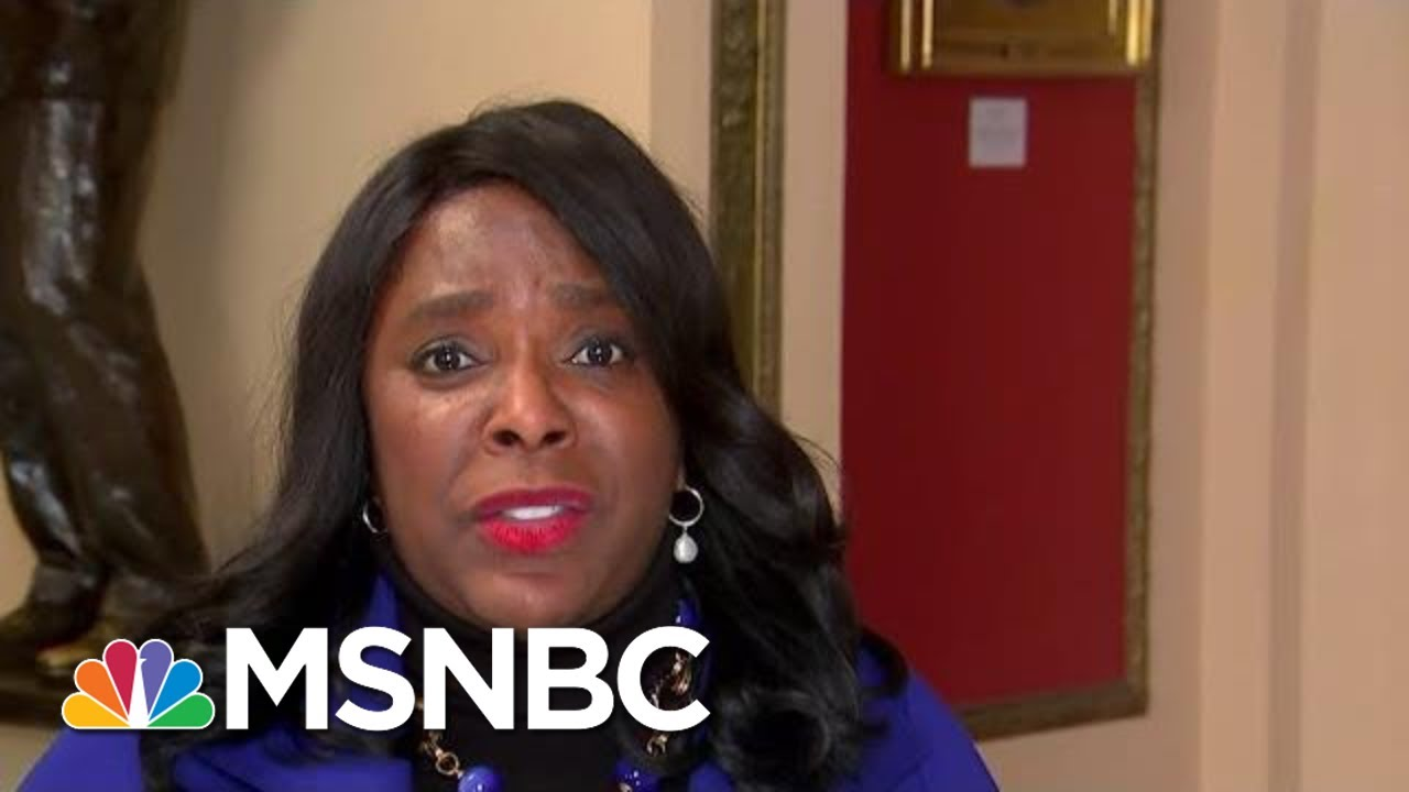Full Sewell: Testimony From 'Credible' Witnesses 'Devastating' To Administration | MTP Daily | MSNBC 1