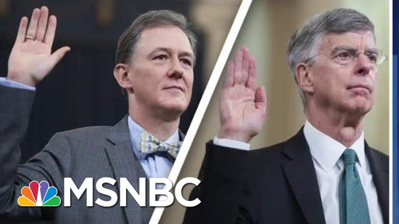 Impeachment Day 1: Bricks Of Bribery Evidence Pile Up Against Trump | MSNBC 7