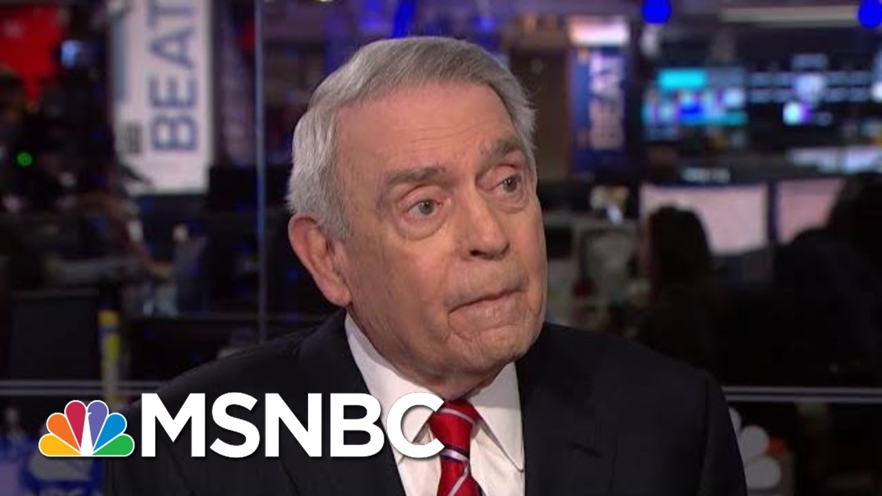 'History Is Watching': Dan Rather On Stakes Of Trump Impeachment | The Beat With Ari Melber | MSNBC 8