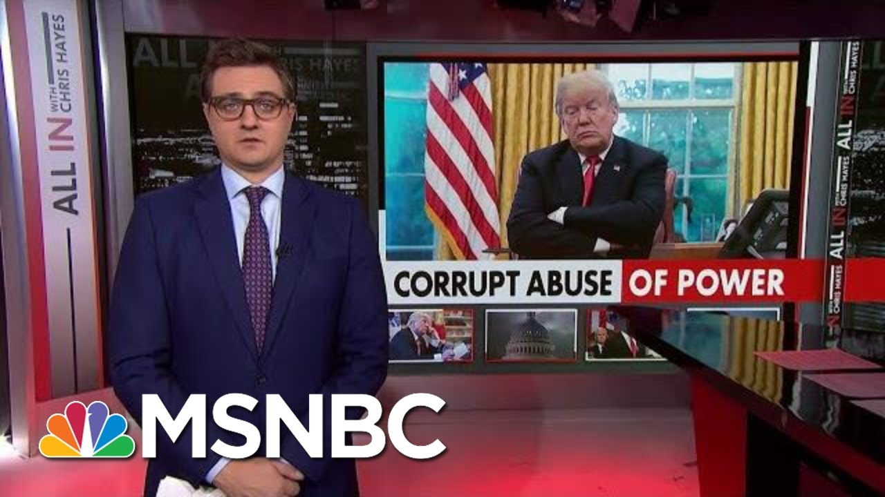 Chris Hayes On How The New Testimony Ties Trump To Ukraine Pressure | All In | MSNBC 7